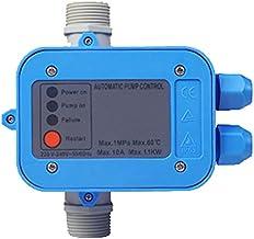 Noblik Controlador ElectróNico EléCtrico 220V Bomba de Agua AutomáTica Interruptor de PresióN Encendido Apagado FáCil de Operar para Mantener la PresióN y el Flujo