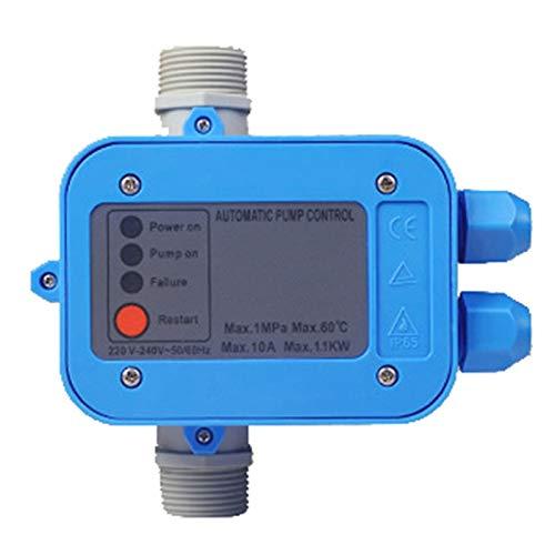 Nrpfell Controlador ElectróNico EléCtrico 220V Bomba de Agua AutomáTica Interruptor de PresióN Encendido Apagado FáCil de Operar para Mantener la PresióN y el Flujo
