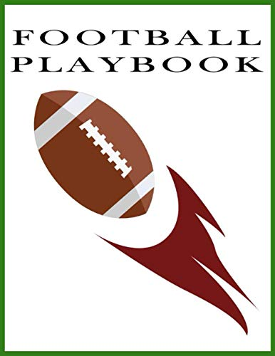 football playbook template: 100 Page Football Coach Notebook with Field Diagrams for Drawing, football field diagram notebook, football coaching books defense