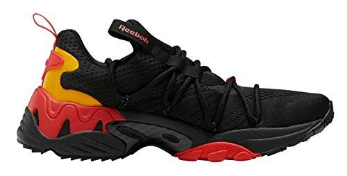 Reebok Trideca 200 Zapatillas para correr FV9294, (Negro/Rojo/Dorado), 43.5 EU