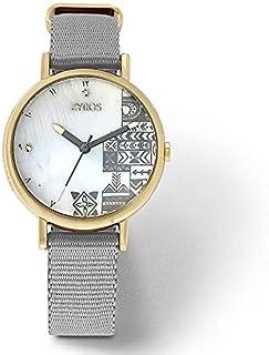 Zyros Dress Watch For Women Analog Nylon - ZAN004L010429