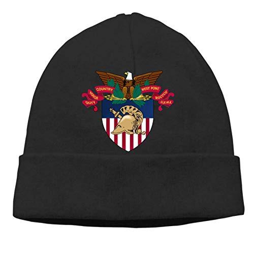 BGDFN West Point Military Academy Logotipo de la Academia de West Point Gorra de Cobertura para Adultos Gorra Fina de otoño Gorros Casuales Sombrero