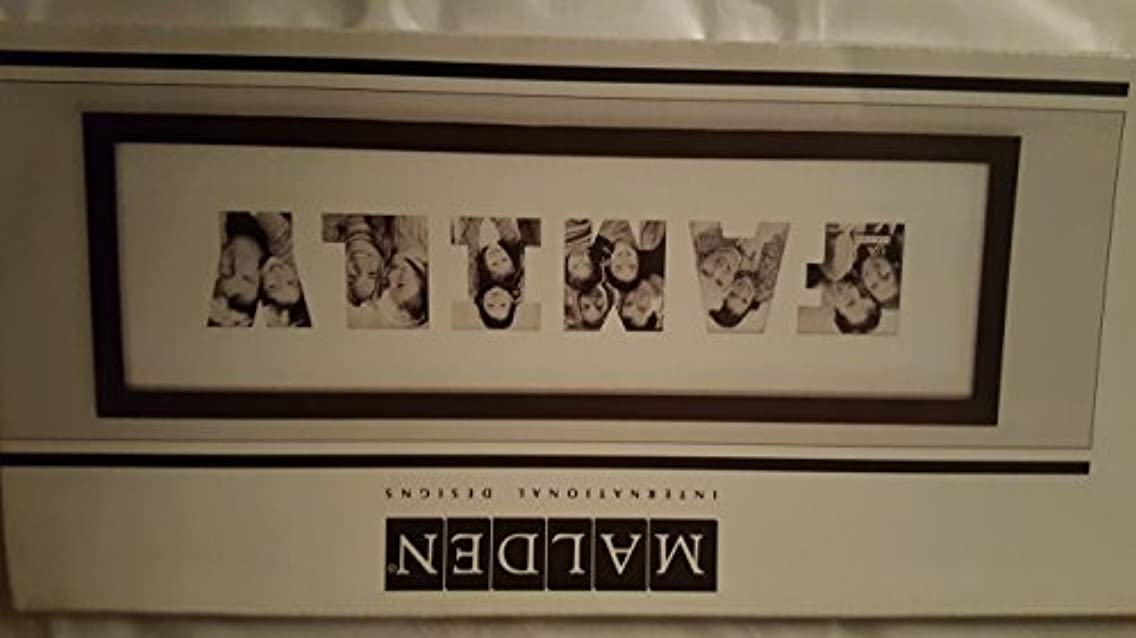 6 opening family mat collage frame