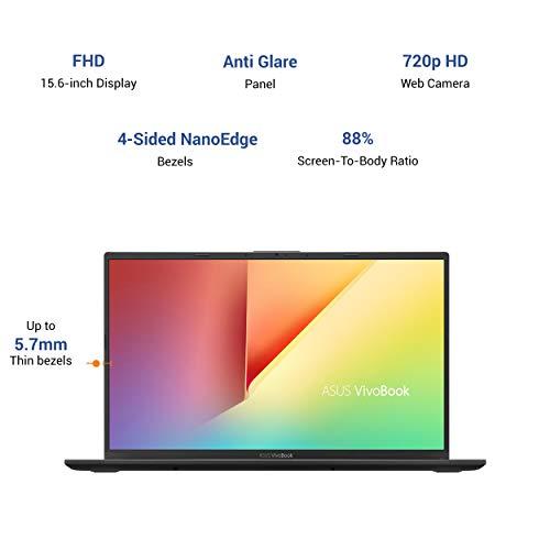 ASUS VivoBook 15 Intel Core i5-1035G1 10th Gen 15.6-inch FHD Thin and Light Laptop (8GB RAM/1TB HDD + 256GB SSD/Windows 10/Integrated Graphics/Slate Grey/1.70 kg), X512JA-EJ851T