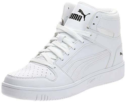 PUMA Rebound Layup Sl, Baskets Mixte Adulte, Blanc (Puma White-Puma Black 03), (42 EU)