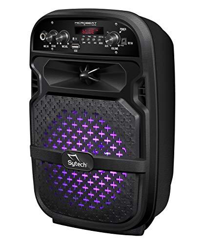 SYTECH -SY-XTR15BT - Altavoz portátil e inalámbrico Bluetooth V5.0. Potencia 80W y...