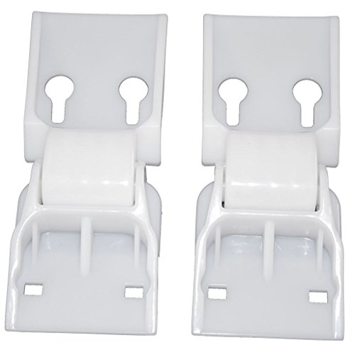 Yourspares Fits Norfrost, Nova Scotia, Thorn, Whirlpool and Zanussi Universal Chest Freezer Counterbalance Hinge- Pack of 2