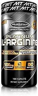 Platinum L-Arginina Muscletech 100 Cápsulas