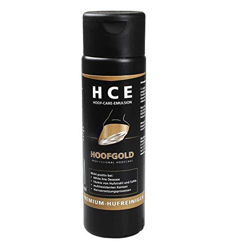 HOOFGOLD HCE Hufreinigungs-Emulsion für Pferde - Ideal zur täglichen Reinigung & Pflege der Hufe
