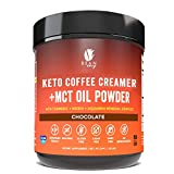 Bean Envy Keto Coffee Creamer - Coconut Milk Powder + MCT Oil Powder - Superfood Blend for Energy & Immunity Boost. Perfect for Keto & Stress management (Chocolate, 8.78 Ounce (Pack of 1))