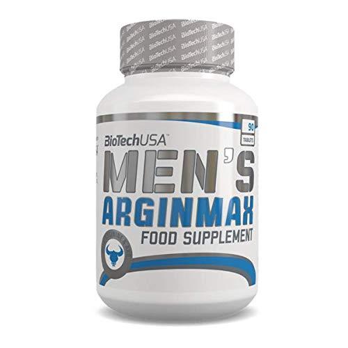 BioTech Men's Arginmax Complejos, Sin Sabor - 90 gr