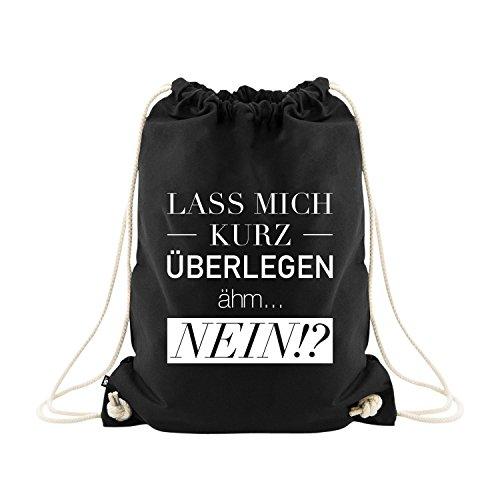 VISUAL STATEMENTS Sportbeutel – bedruckter Beutel mit Spruch – eine schöne Sport-Tasche; aus...