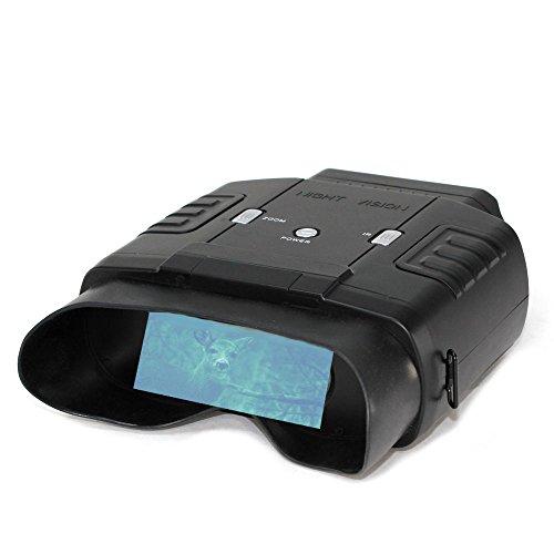 FISHTEC ® Binocolo Visione Notturna - Visione fino a 60 m 400 m di Giorno e di notte - Zoom x6