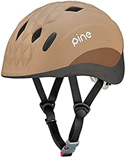 オージーケーカブト(OGK KABUTO) 自転車 ヘルメット 子ども用 PINE_H(パイン_H) ミンクベージュ 幼児用(頭囲47~51cm) 吊り下げヘッダーパッケージ