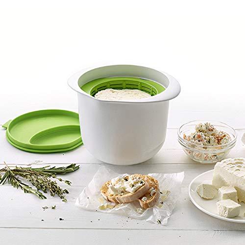 OnlyBP – Kit para Hacer Queso Fresco casero, Cheese Maker con Libro de Recetas Incluido