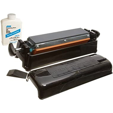 Norton IM313 -11.5  Three Stone Sharpening System - Fine India, Medium Crystolon, and Coarse Crystolon stones