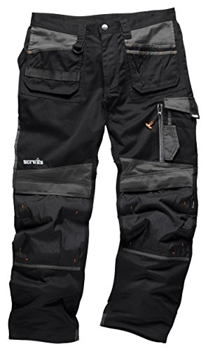 Scruffs T51998.53D TradeLong Trousers, Black, 30W 30L(Manufcature Size:44)