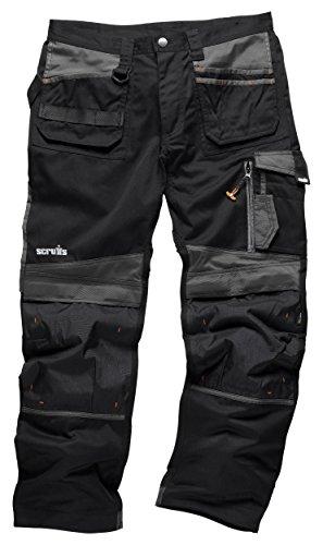 Scruffs T519743D TradeLong Trousers, Black, 34W 32L(Manufcature Size:48)