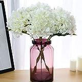 IETONE Flor de Seda Francesa Flor Artificial Flor de Simulación para Hogar Hotel Boda Flor Ramo de Novia Flor Decorativa Hortensia