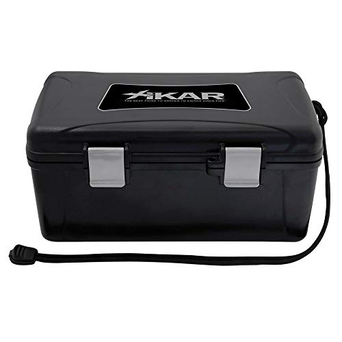 Xikar Cigar Travel Carrying Case, Holds 15 Cigars, Includes...