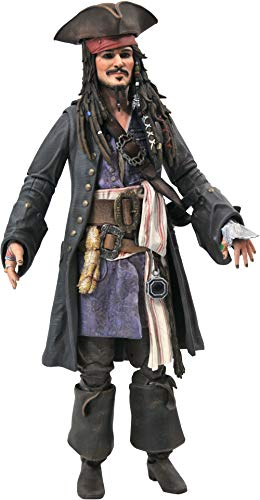 DIAMOND SELECT TOYS Pirates of The Caribbean: Dead Men Tell No Tales: Jack Sparrow Action Figure