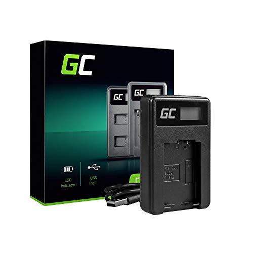 Green Cell® DE-A83 DE-A84 Cargador para Panasonic DMW-BMB9 DMW-BMB9E DMW-BMB9PP Batería y DMC-FZ40 DMC-FZ45 DMC-FZ47 DMC-FZ60 DMC-FZ62 DMC-FZ70 DMC-FZ100 DMC-FZ150 Cámaras (5W 8.4V 0.6A Negro)