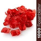 WeddingTree 1000 lose Rosenblätter rot - für Hochzeit Valentinstag Geburtstag Party als...