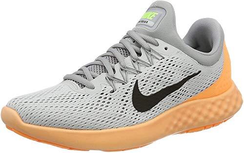 Nike Herren Lunar Skyelux Laufschuhe, Grau (Pure Platinum/Wolfgrau/Peach Cream Orange), 42.5 EU