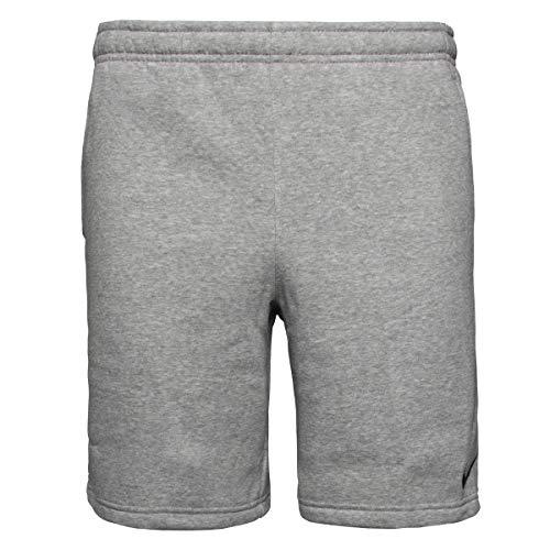 Nike Herren Park 20 Fleece Shorts, Dark Grey Heather/Black/Black, L