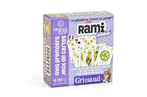 Grimaud - Rami Junior - Jeu de cartes