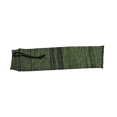 Yuansu Knit Gun Socken Polyester Siliconisierte Gewehr Shotgun Angel Socke Schutzhülle Tasche Fall Tactical Jagd Caza (Color : 36cm Green)