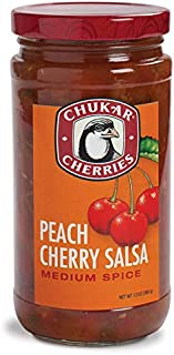 Peach Cherry Salsa