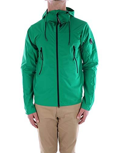 C.P. Company herenjack PRO-Tek Lens detail capuchon, polyester, groen, P/E 2020