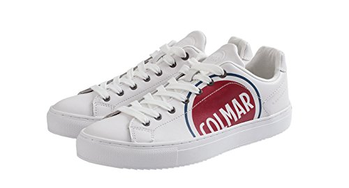 Colmar Bradbury Logo COD Sneakers, heren Mu Bradbury LOGO/234 White
