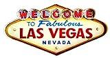 Poster Las Vegas Vintage Enseigne Métallique lumineux artesanías...
