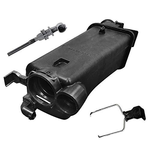 TOPAZ 17117573780 Expansion Tank Reservoir Overflow Bottle with Sensor for BMW 09-14 E46 E53 X5 318i