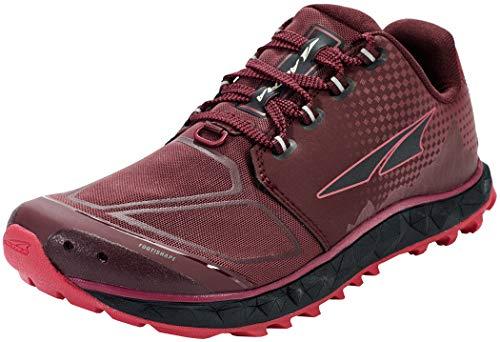 ALTRA Women's AL0A4VR4 Superior 4.5 Trail Running Shoe, Black/Pink - 11 M US