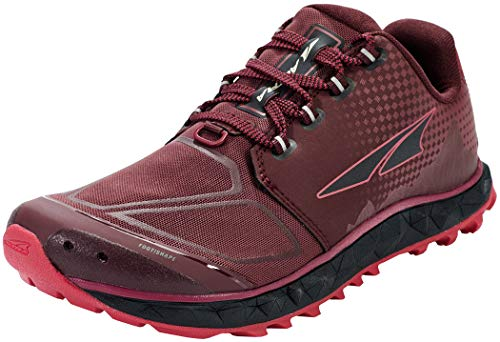 ALTRA Women's AL0A4VR4 Superior 4.5 Trail Running Shoe, Black/Pink - 7.5 M US