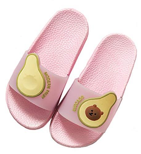 Pantofole da Bagno Ciabatte da Spiaggia Sandali A Punta Aperta Ragazzi e Ragazz per Bambini Pantofole da Interno E da Esterno Sandali Estivi EU 29 = Etichetta 30