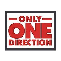 One Direction ワン・ダイレクション 装飾画 額縁付き インテリア 壁掛け 壁飾り ウォールアート 北欧 部屋装飾 シンプル 黒い枠 木枠額装絵画 アートフレーム 現代 おしゃれ インテリアアート オフィス ダイニング 玄関 リビングと寝室の飾りアートパネル 写真 ソファの背景絵画 新居祝い 取り付けやすい
