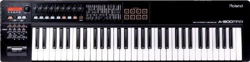 Roland A-800PRO-R 61-key MIDI Keyboard Controller, Black