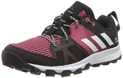adidas Damen Kanadia 8 TR W Laufschuhe, Black (Negbas/Ftwbla/Rosbah), 38 2/3 EU