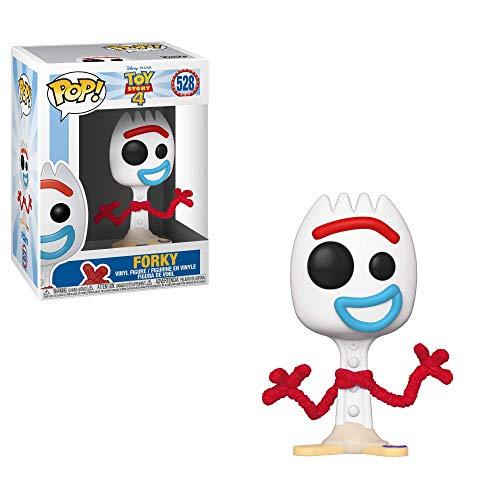 Funko- Pop Vinile: Disney: Toy Story: Forky Figura da Collezione, Multicolore, 37396