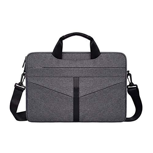 Schoudertas, Laptop Sleeve Bag13.3-15.6 Inch Spill-Resistant Tablet Schokbestendig, Lichtgewicht Schoudertas Laptop Messenger Bag Computer Bag voor Reizen/Zaken/School/Mannen/Vrouwen