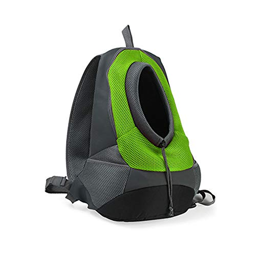 LIGHTOP Sac À Dos pour Animaux Travel Pet Avant Arrière Sac Perméable à l'air Soft Mesh Pup Pack Pet Porte-Sac à Dos pour Petit Chien Chat Puppy on-The-Go