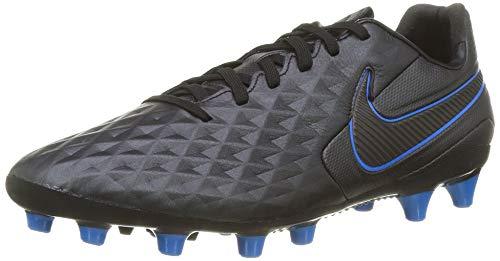 Nike Tiempo Legend 8 AG-Pro, Botas de fútbol Unisex Adulto, Multicolor (Black/Black-Blue Hero 4), 40 EU