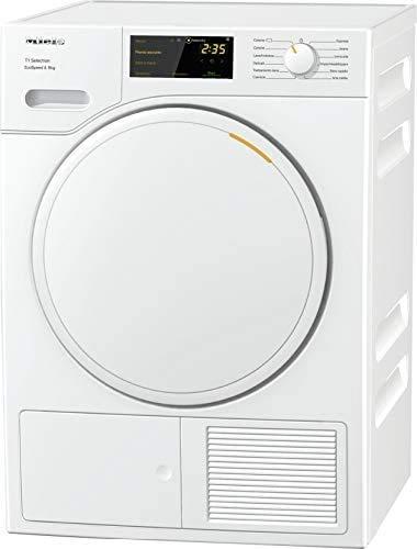 Miele TSD 443 WP ECOSPEED, Asciugatrice Libera Installazione, A+++, Pompa di Calore, Carico Frontale, 8 kg, Eco Speed, Bianco