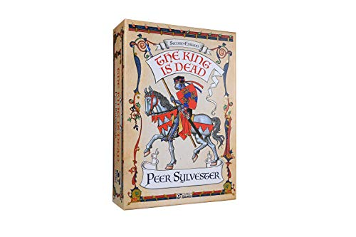 Osprey Games - The King is Dead 2nd Edition - Board Game - English Version (Merhfarbig, Einzelstück)