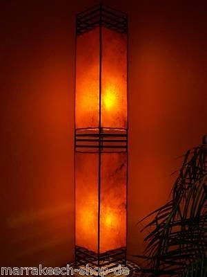 Arabische lamp Koutoubia oranje 120cm
