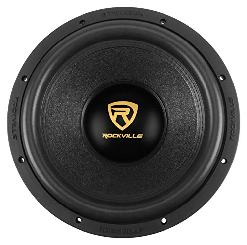 "Rockville W12K9D4 12"" 4000w Car Audio Subwoofer Dual 4-Ohm Sub CEA Compliant"